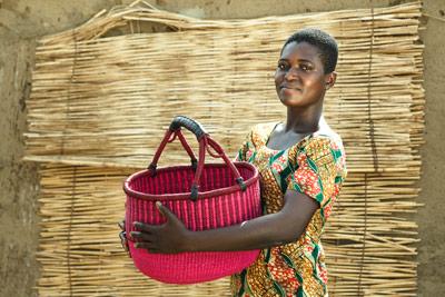 Bolga Kurv fra Hammershus Fairtrade