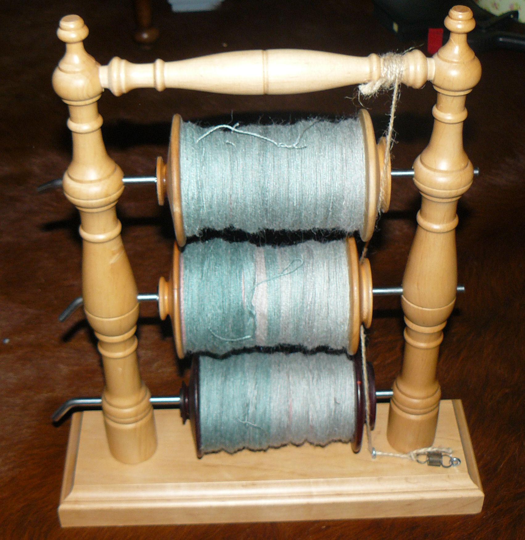 3 spoler med 2-trådet Alpakka Silke